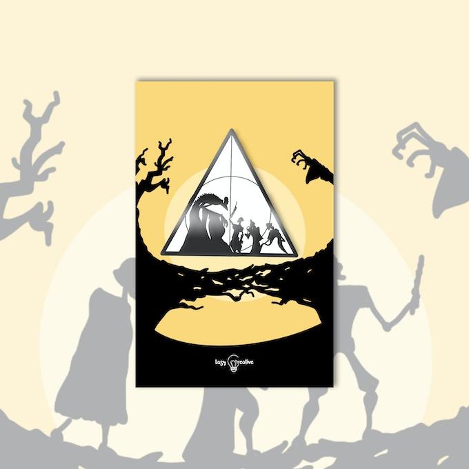 Deathly Hallows: Wizarding Enamel Pins
