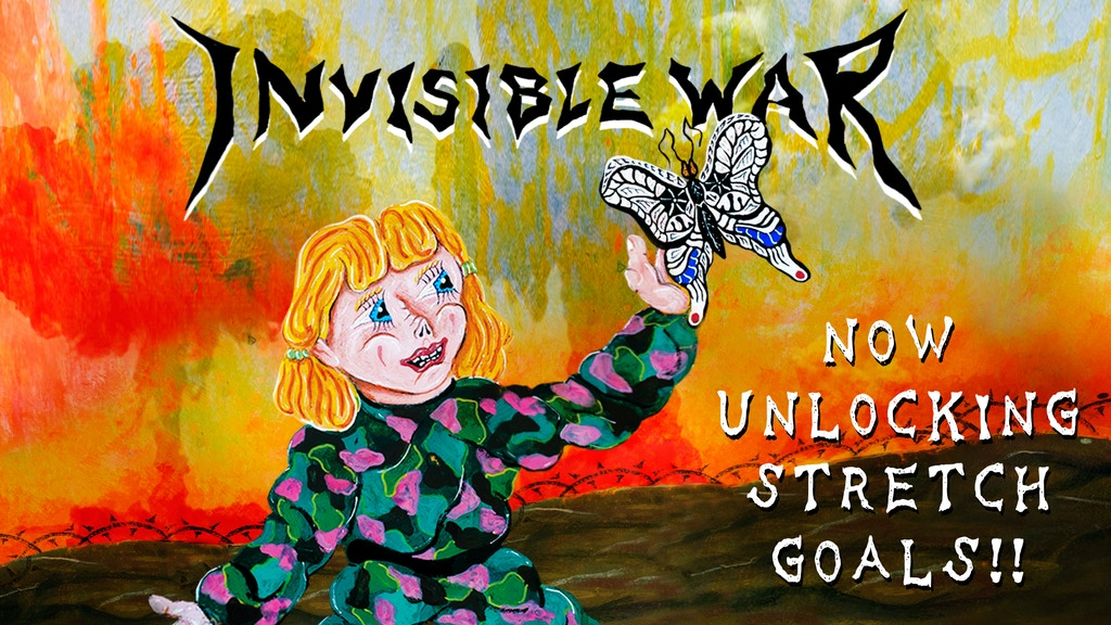 Invisible War - Comic Book project video thumbnail