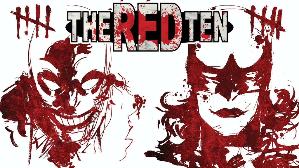 THE RED TEN Vol 1 & 2 | Superhero Murder Mystery Hardcovers project video thumbnail