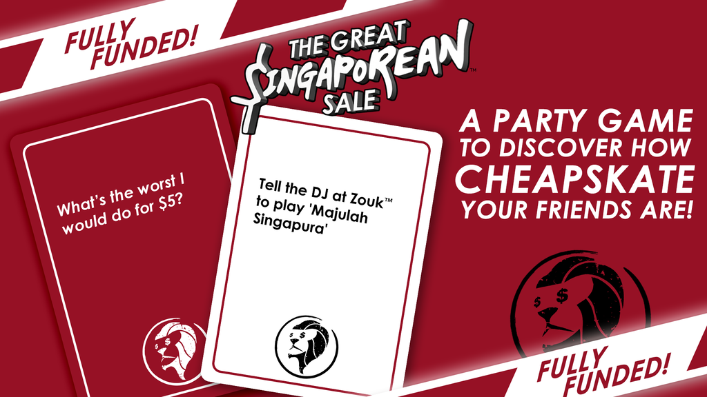 THE GREAT SINGAPOREAN SALE: Discover the cheapskate in you! project video thumbnail