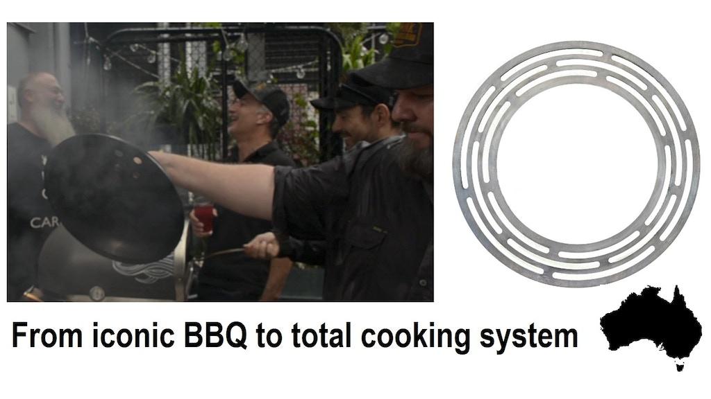 SOLIDteknics BBQ Sear Ring + pans TRANSFORM the Weber®Kettle miniatura de video del proyecto