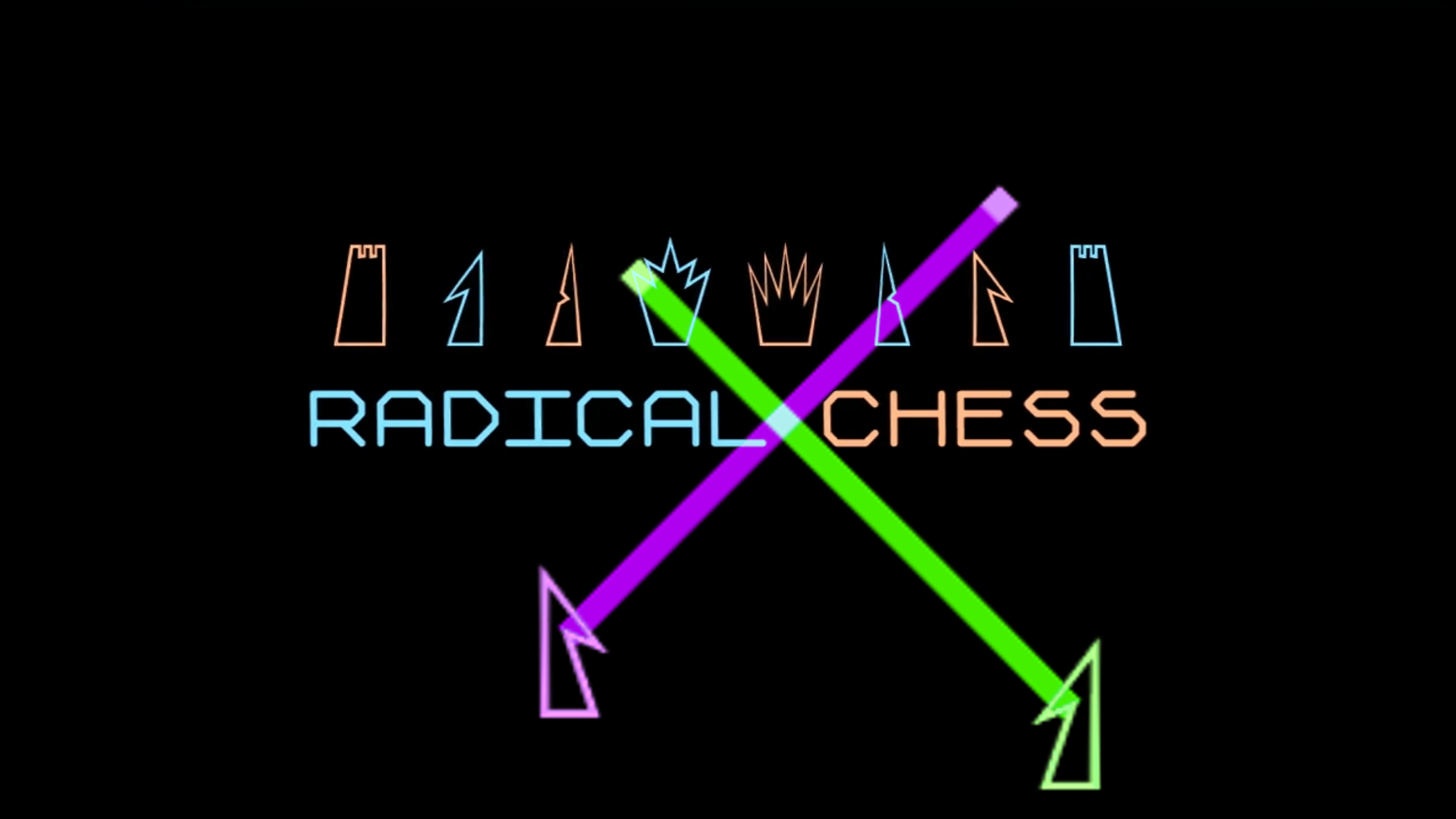 A head to head fighting/strategy game that only looks like chess. You don't have to know how to play chess to get radical!