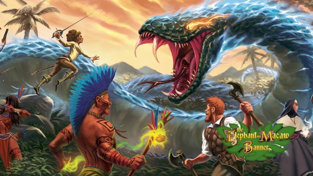 The Elephant & Macaw Banner Roleplaying Game project video thumbnail