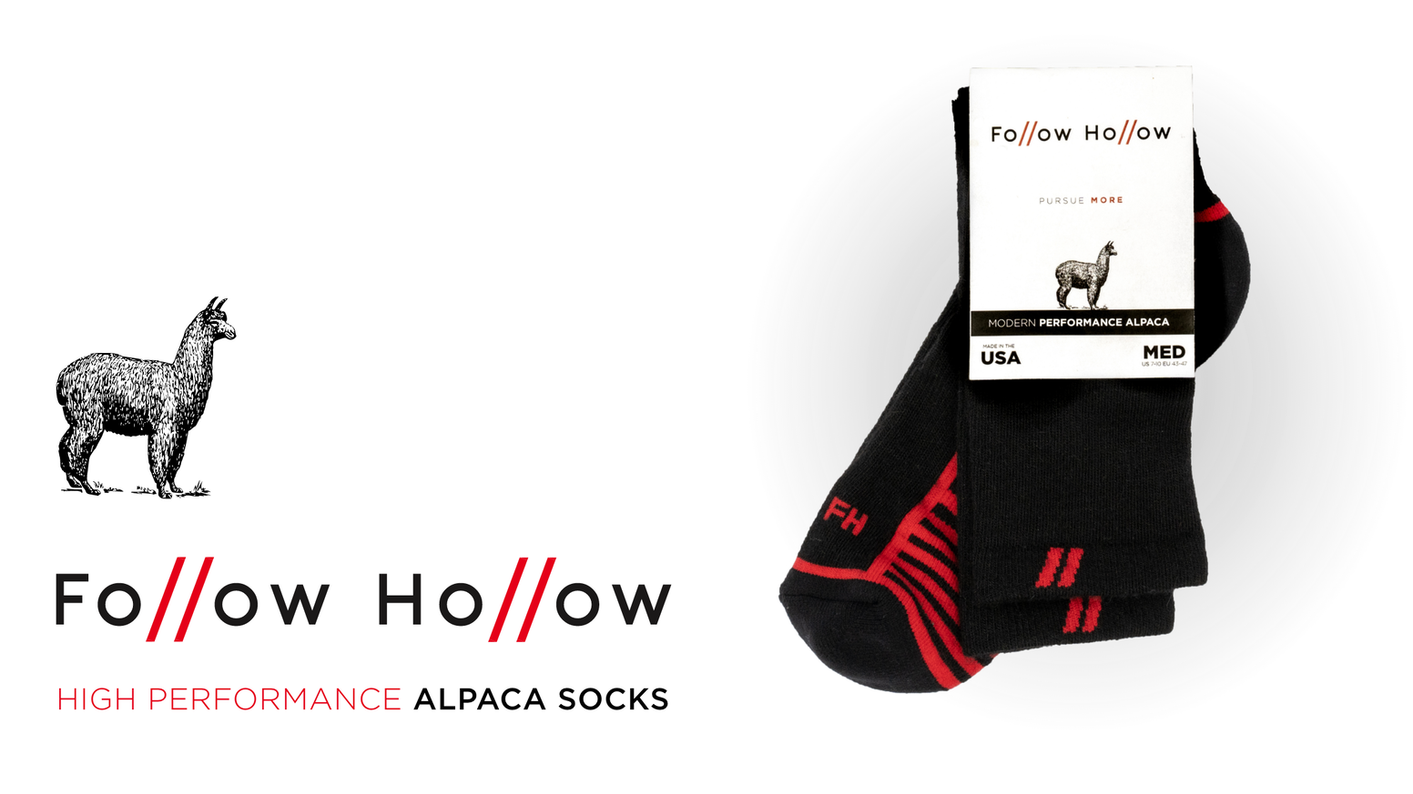 Premium Baby Alpaca Fiber + USA Manufacturing = Performance Alpaca Socks ✅ No Itch ✅ No Stink ✅ No Quit