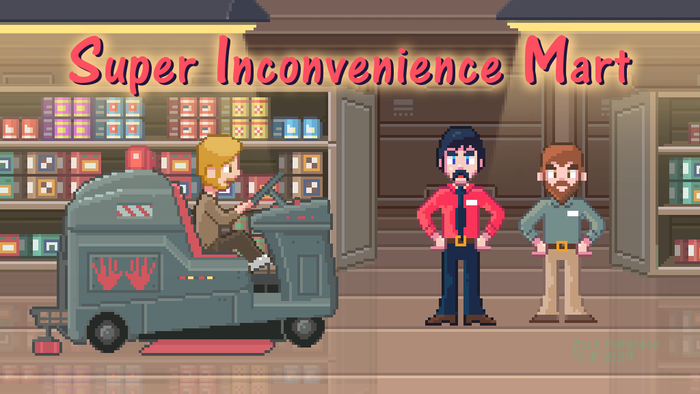 A point and click adventure game for the PC, inspired by the likes of Mystery Science Theater 3000, Lucasfilm Games, and Sierra.