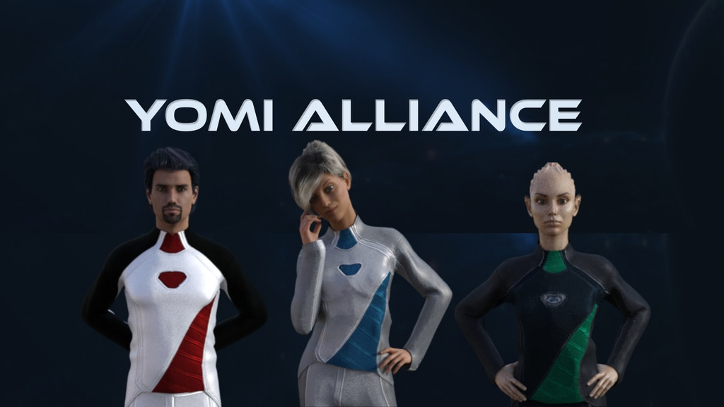 Project image for Yomi Alliance: An Epic Sci-Fi Visual Novel