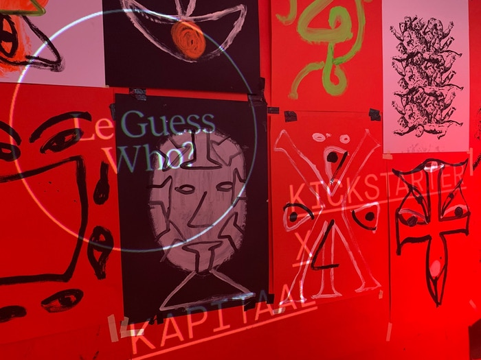 Some of the visuals Príncipe Discos developed for the Le Guess Who? Hangout