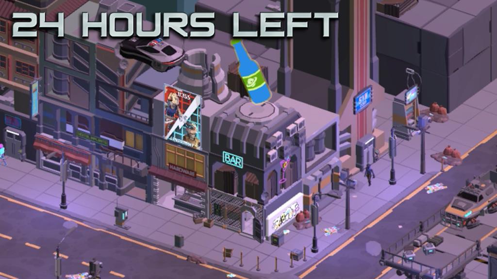 Cyberpunk Bar Sim - A Sci-Fi tycoon game project video thumbnail