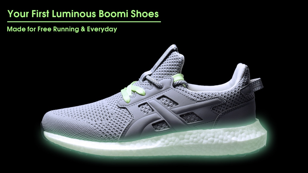 NightElves - A Lumious Free Running Boomi Shoe for Everyone