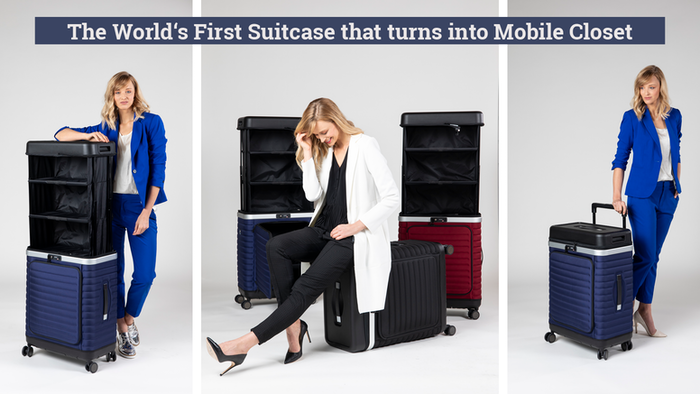 The all in one suitcase to avoid chaos. Sophisticated, tidy and aesthetic - designed & engineered in Germany