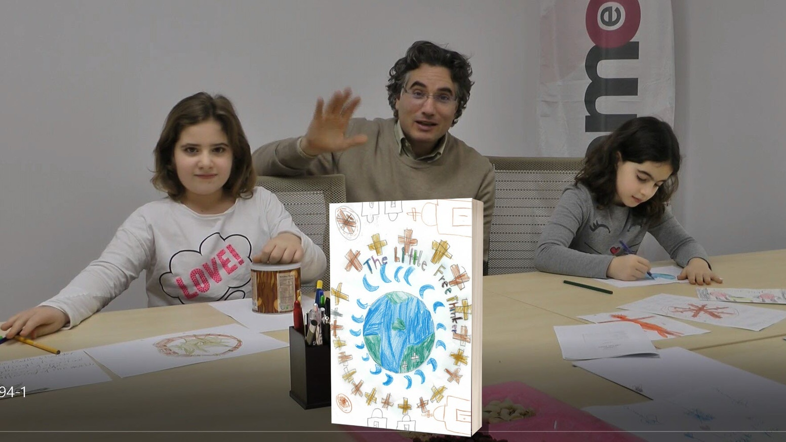 Get an inspirational book about who we are & where we´ll go, painted by free thinking kids from different cultures. Bring warmth & joy in your relationships by using this book as ice-breaker to talk about the really important questions in life.