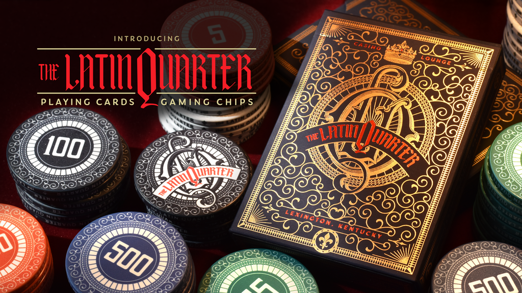 Latin Quarter Playing Cards and Gaming Chips project video thumbnail