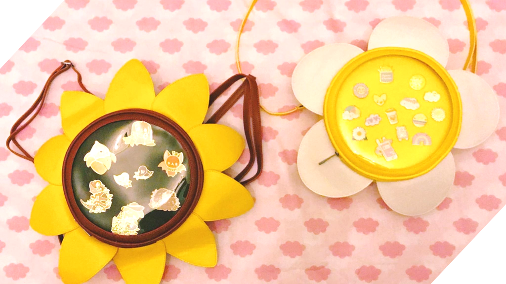 Project image for MLTY's Daisy and Sunflower Flower Ita Bags