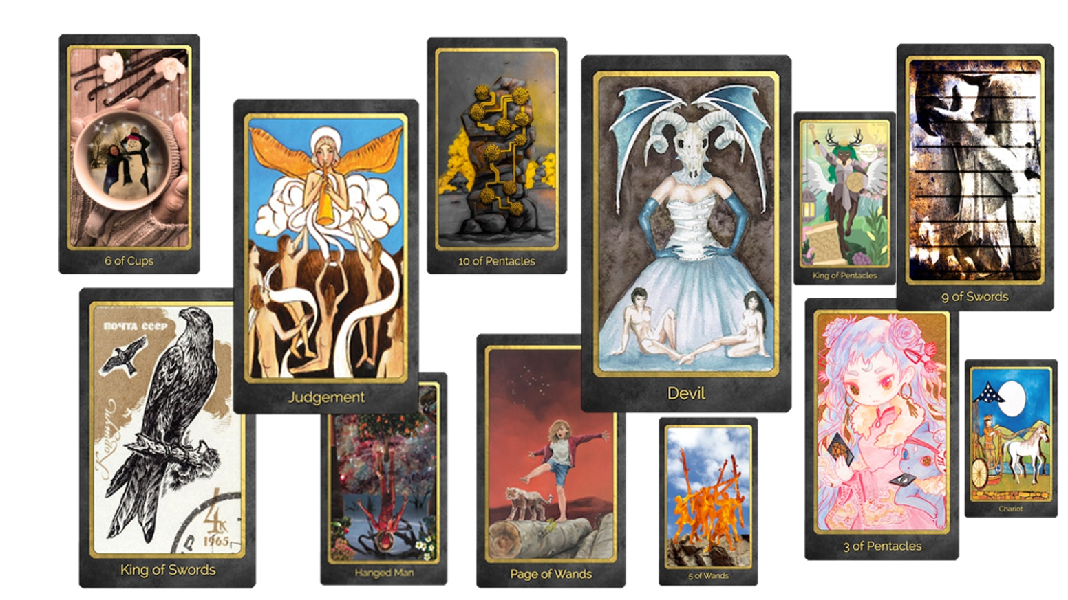 A Multi -Artist Collaborative Tarot Deck from the Members at Cult of Tarot Forum. NOW AVAILABLE FOR PRE-ORDER