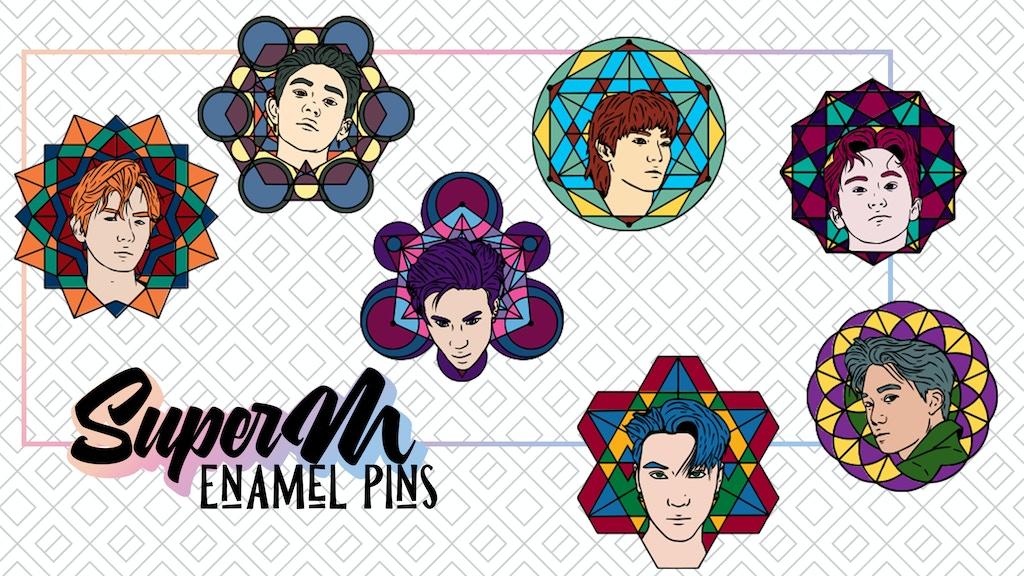 SuperM: The Pins