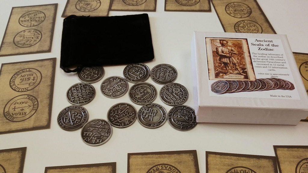 Project image for Ancient Zodiac Seals taken from a 16th century grimoire