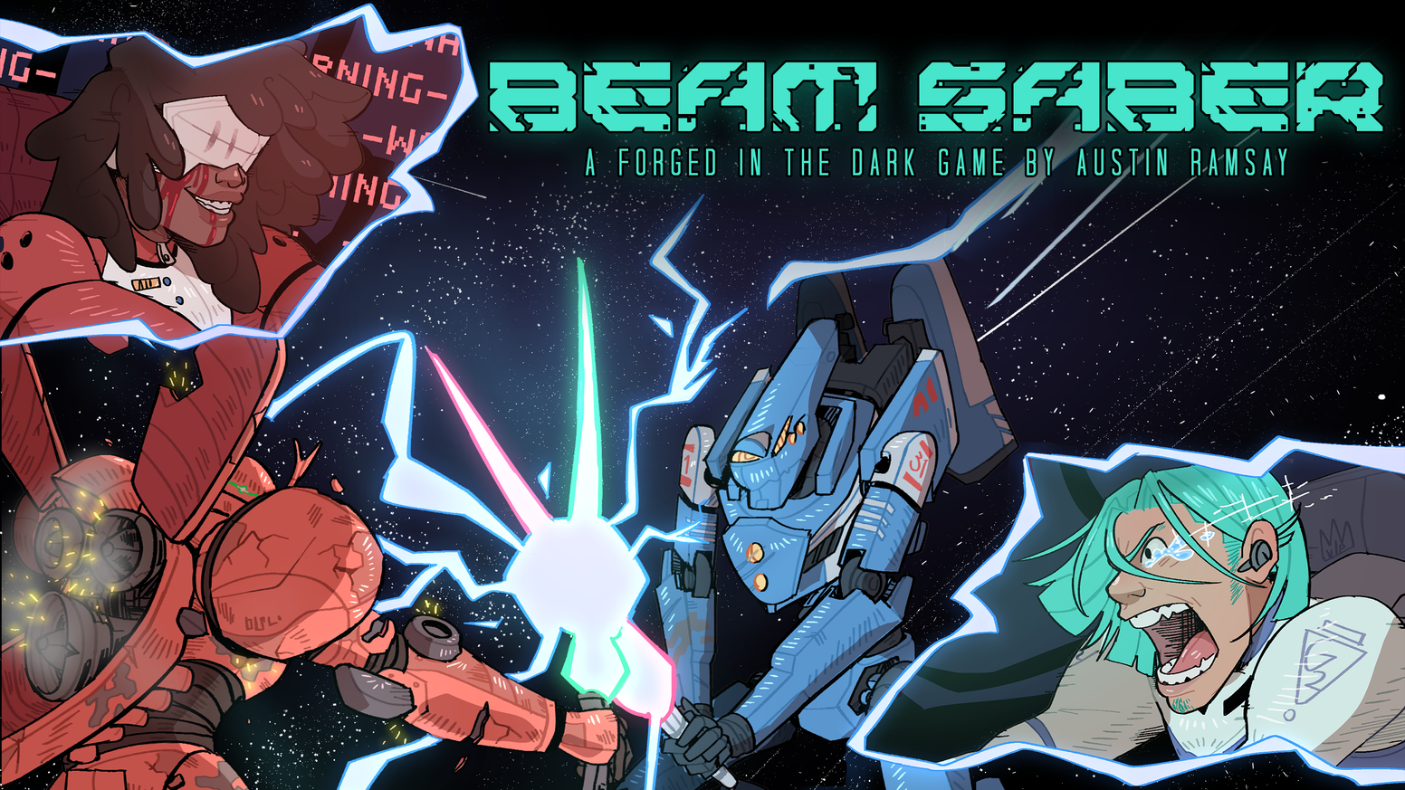 A Forged In The Dark table top role playing game about pilots and their massive war machines.