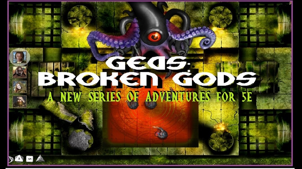 Project image for GEAS: Broken Gods - A new RPG 5e DND adventure series (Canceled)