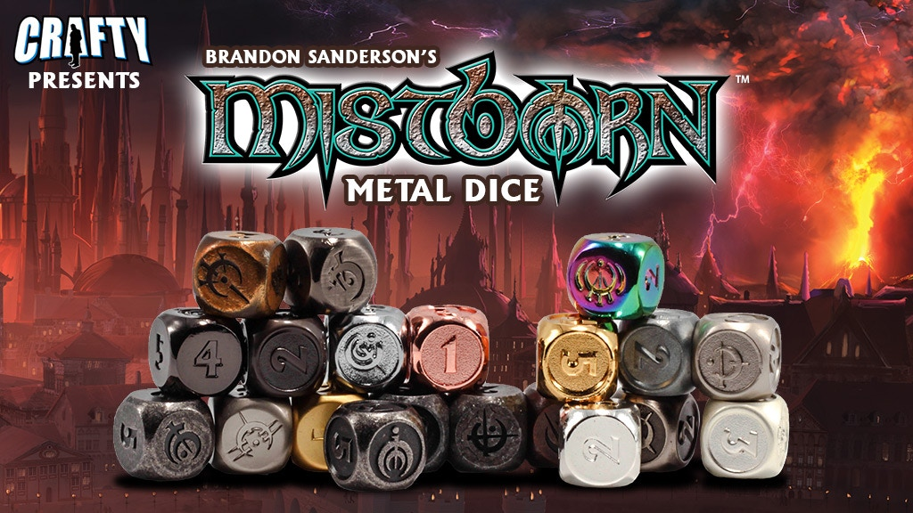 Mistborn Metal Dice project video thumbnail