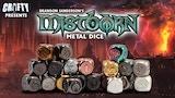 Mistborn Metal Dice thumbnail