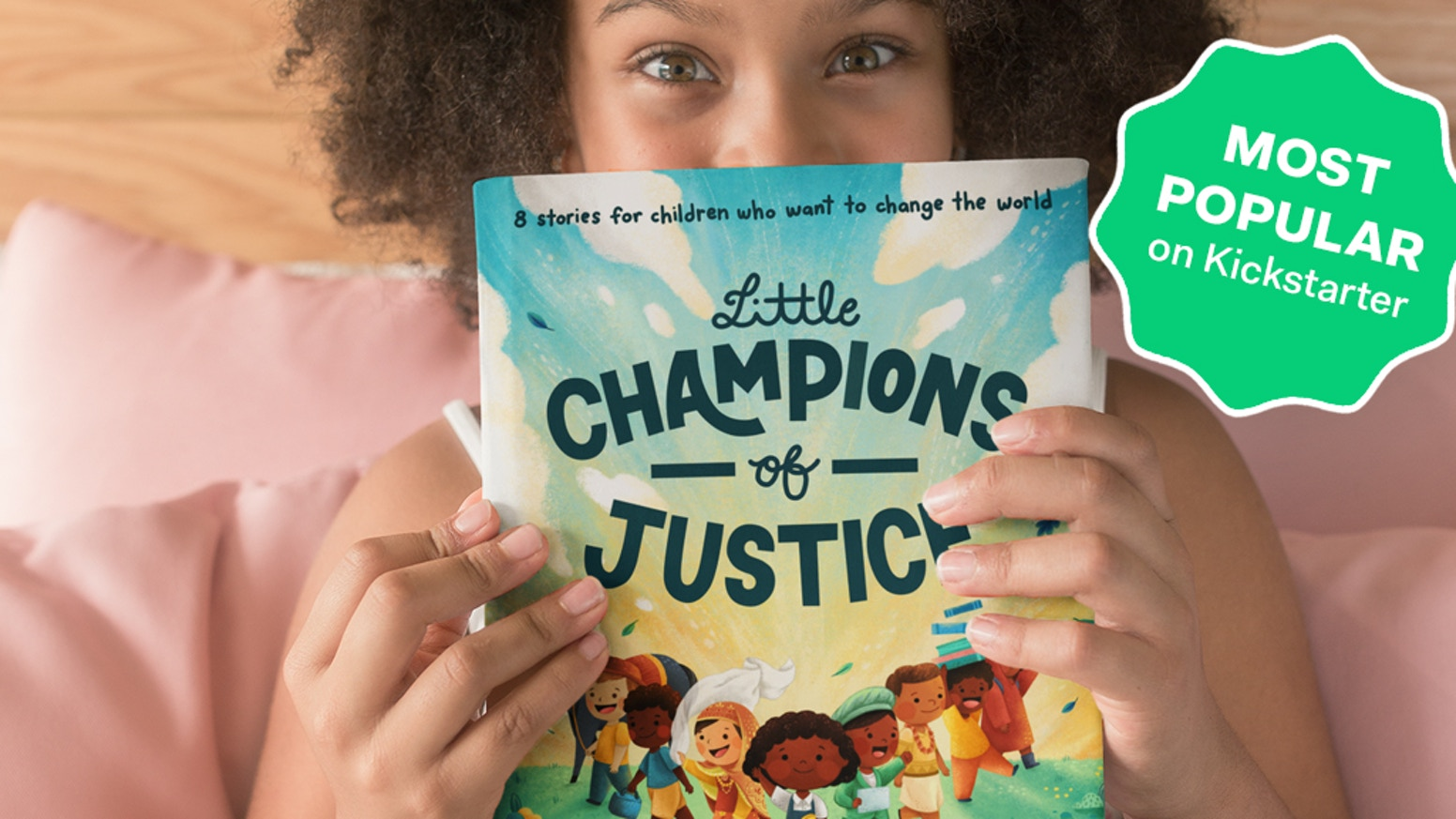 8 illustrated stories about justice, courage, and determination for children who want to change the world.