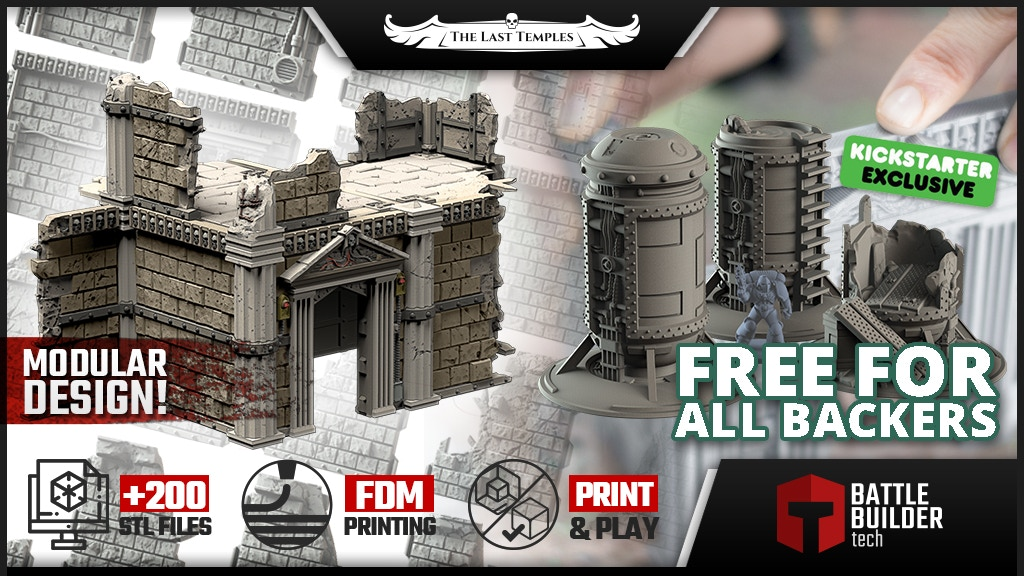 BATTLE BUILDER TECH: The Last Temples project video thumbnail