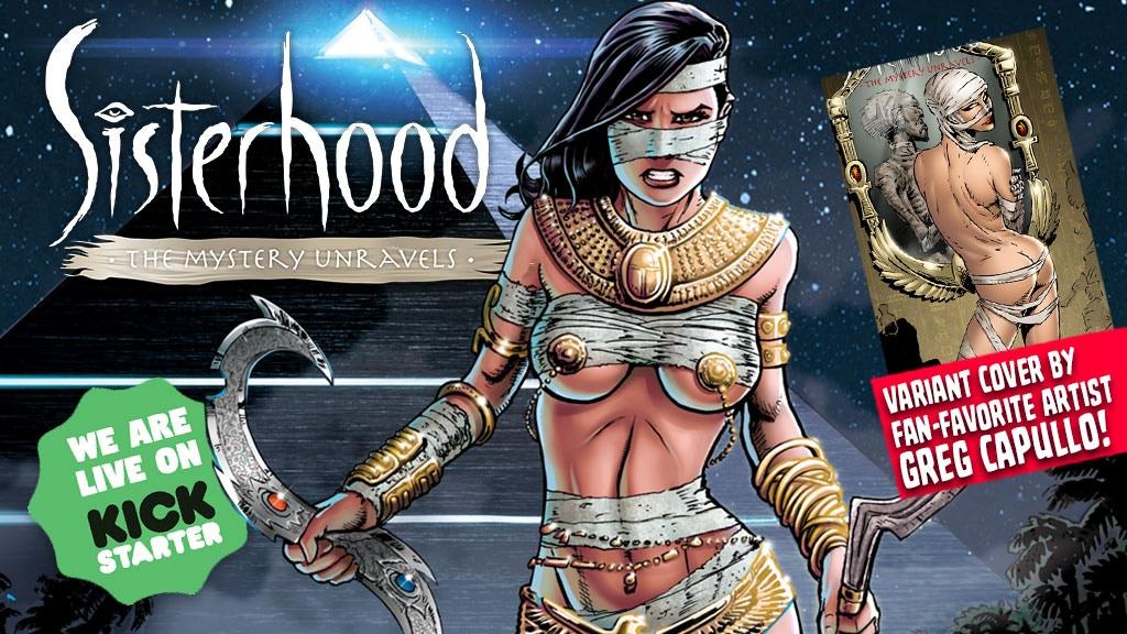 "Sisterhood ""The Fall Of Dymonos"": Love & betrayal in Egypt project video thumbnail"