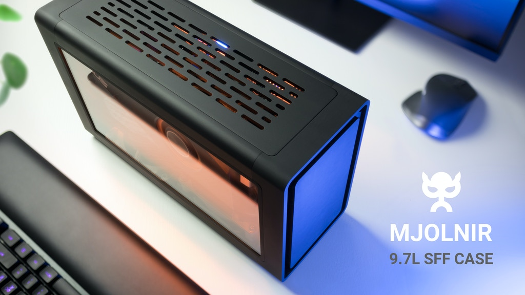 MJOLNIR: The minimalistic – but not boring – PC Case project video thumbnail