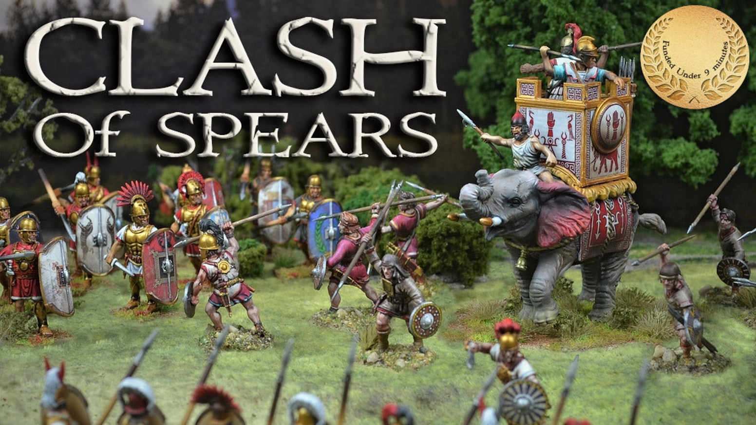 Welcome to CLASH of Spears! Visit us in our webstore below or visit wargame vault for the pdf version.