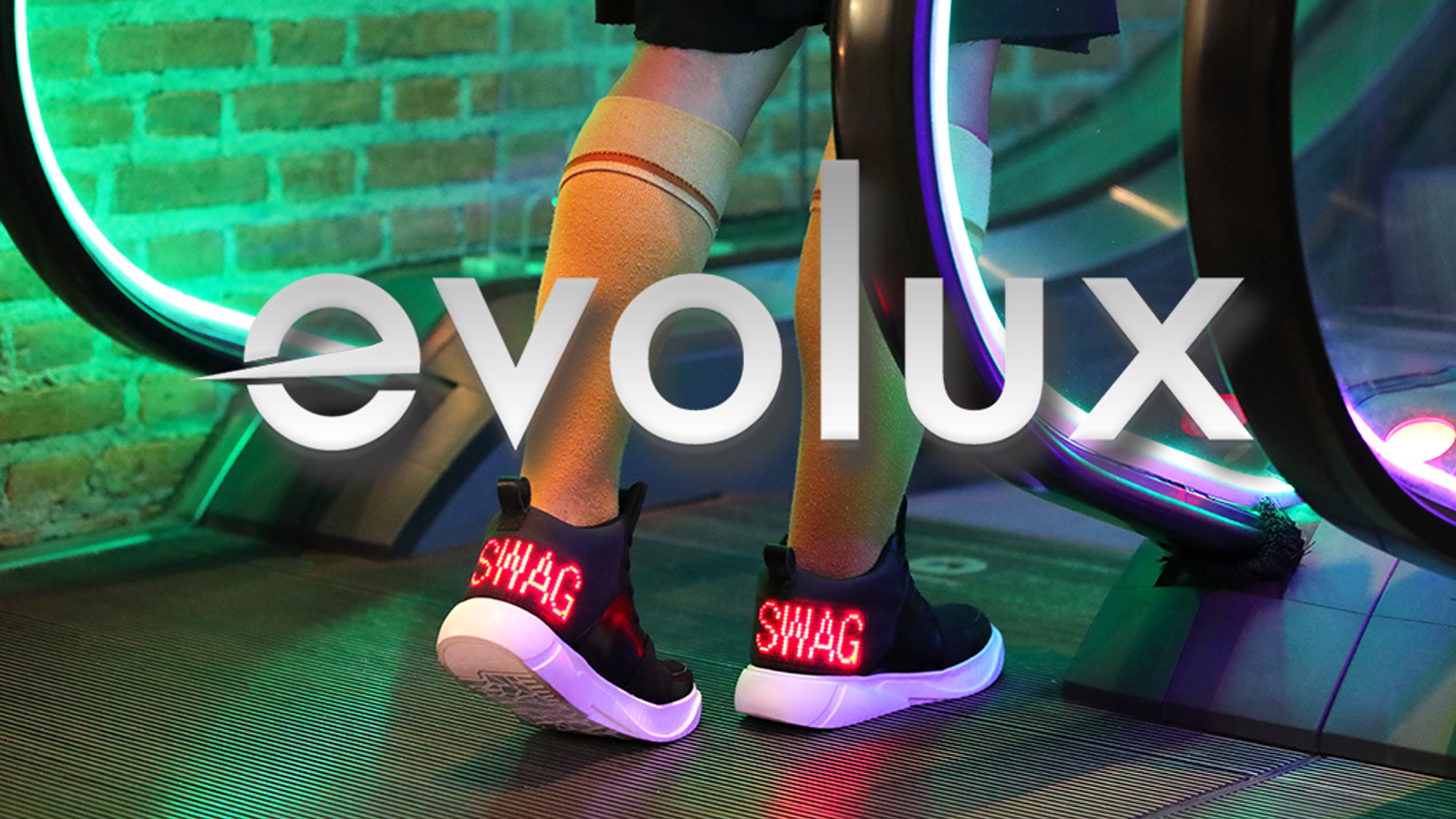 Customize your kicks with an embedded flexible LED display screen controlled by your smartphone to showcase your unique style.