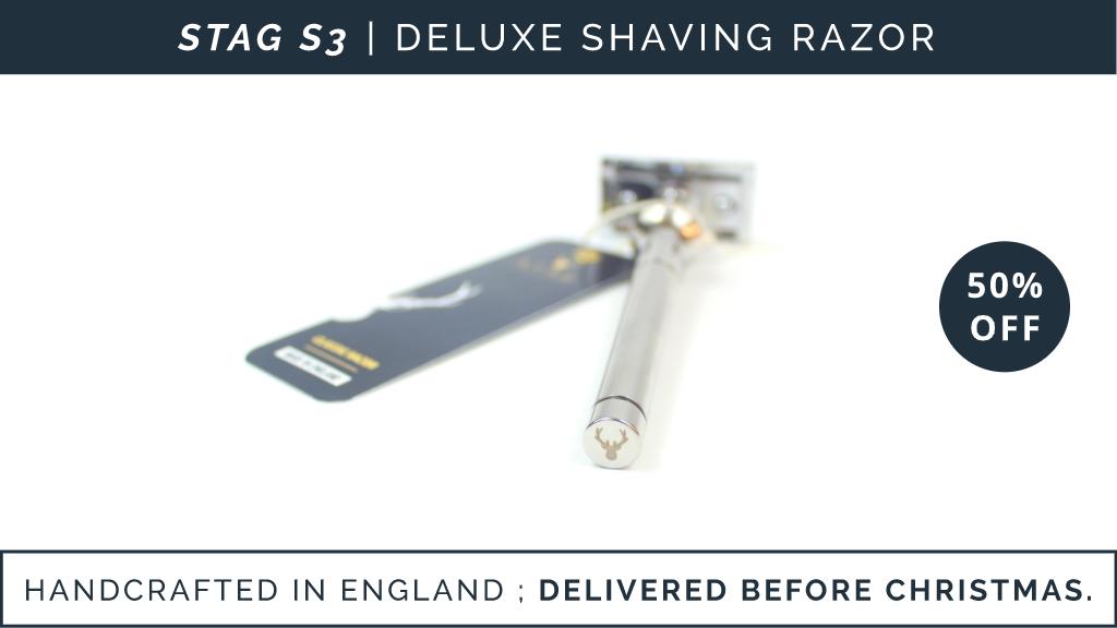 S3 DELUXE SHAVING RAZOR | Shaving; Perfected. project video thumbnail