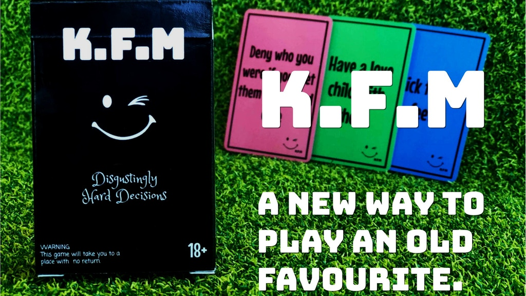 Project image for K.F.M. - A card game of Disgustingly Hard Decisions