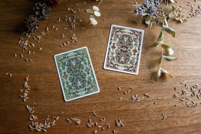 The Green Man by Jocu Playing Cards