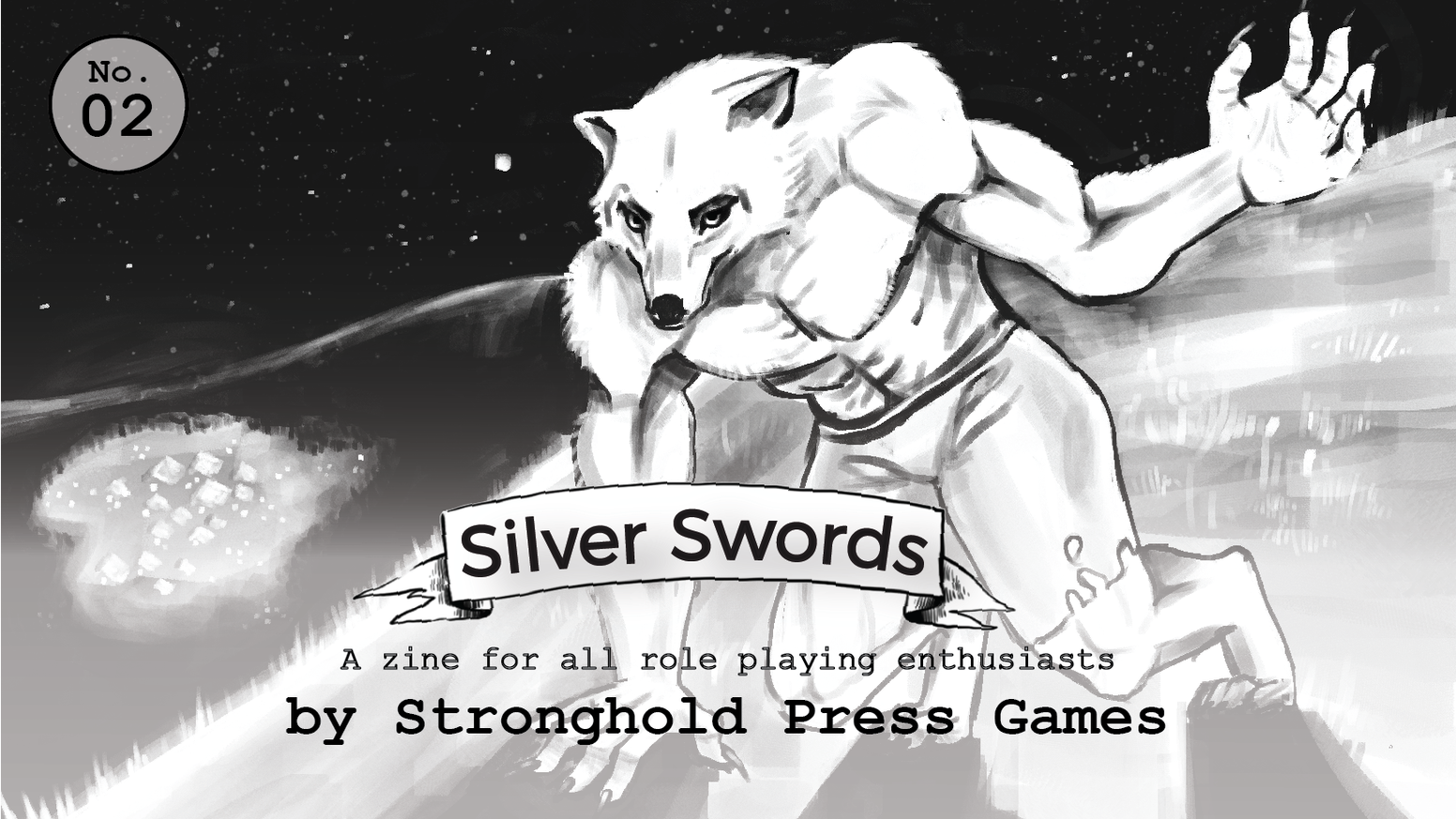 The second issue of the Silver Swords RPG fanzine!