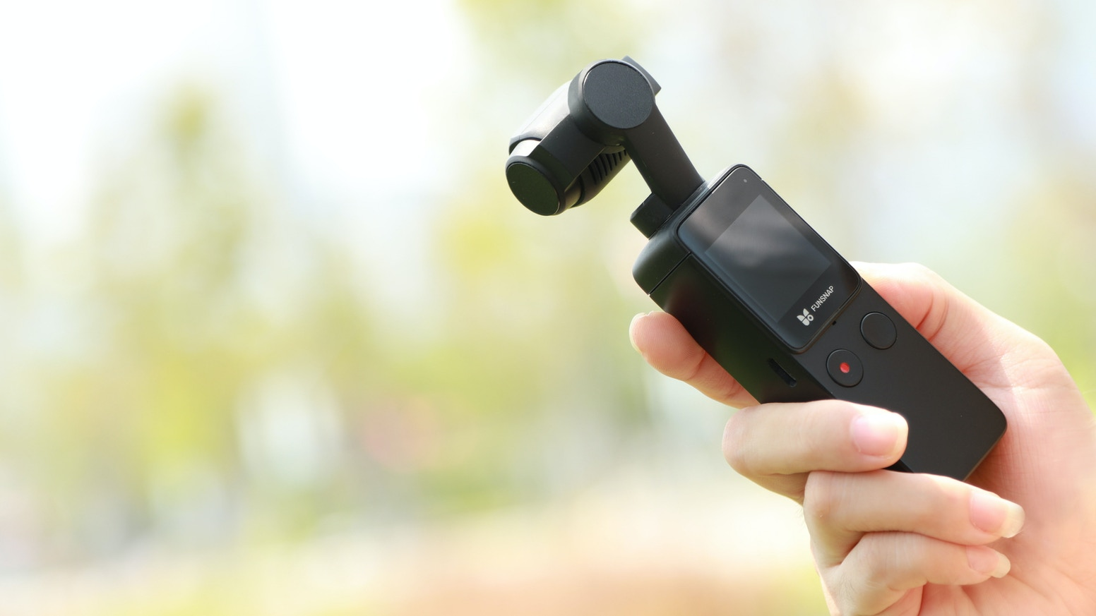 Our pocket-sized 4K camera has voice control, external mic support and is extremely affordable.