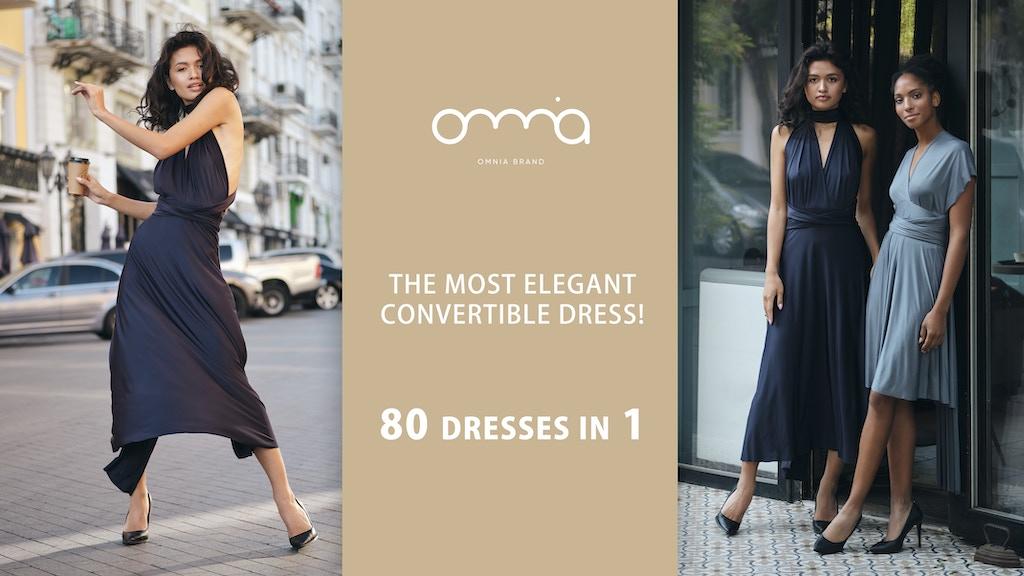 OMNIA V - feminine convertible dress for modern woman. project video thumbnail