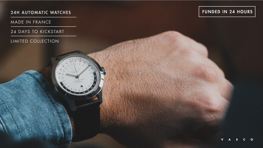 24H Automatic Timepieces | Vasco Watch project video thumbnail