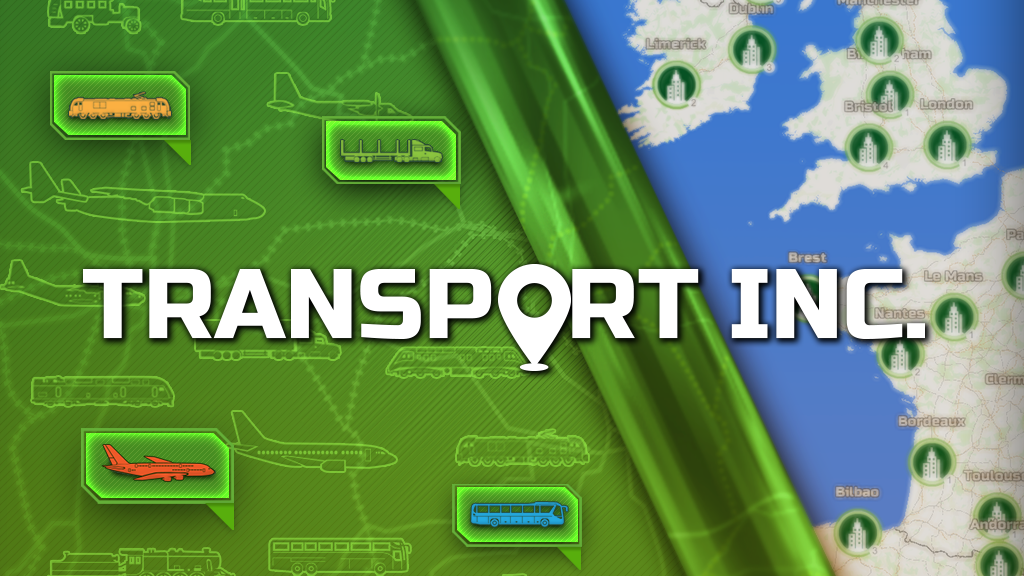 Transport INC. Real-world map data in a transport game! project video thumbnail