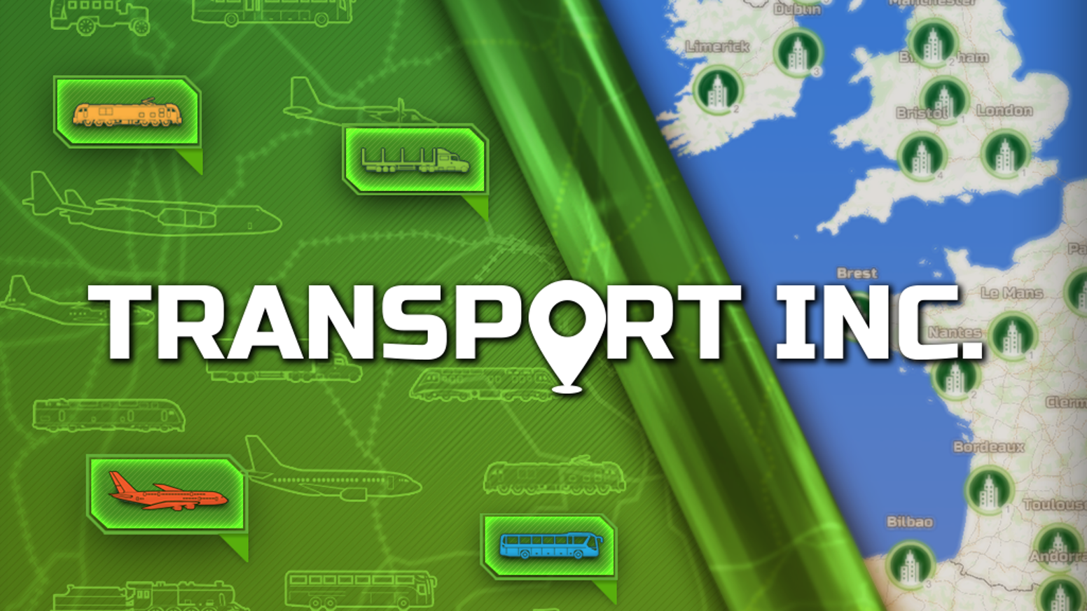 A transport company simulator challenging your skills on moving passengers and cargo over real-world maps!