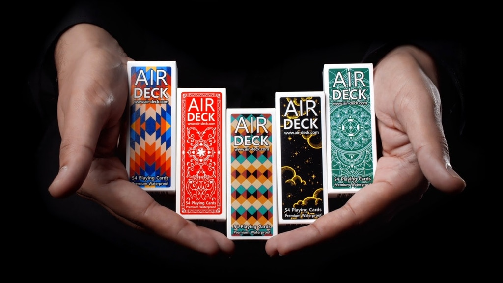 Air Deck 3.0 - Cool playing cards for travelers project video thumbnail