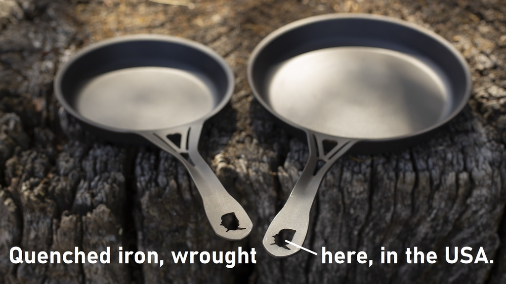 YES to light USA iron! NO to toxic disposable nonstick pans! project video thumbnail