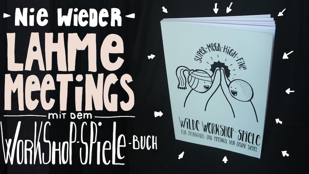 Das Wilde Workshop Spiele Buch für Trainings & Seminare project video thumbnail