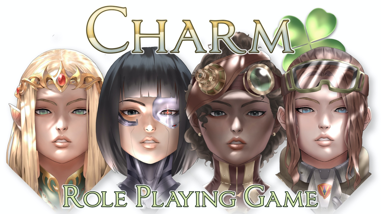 Charm - Universal Roleplaying System: Play any character, from any genre. Be anyone. Learn to play in minutes.