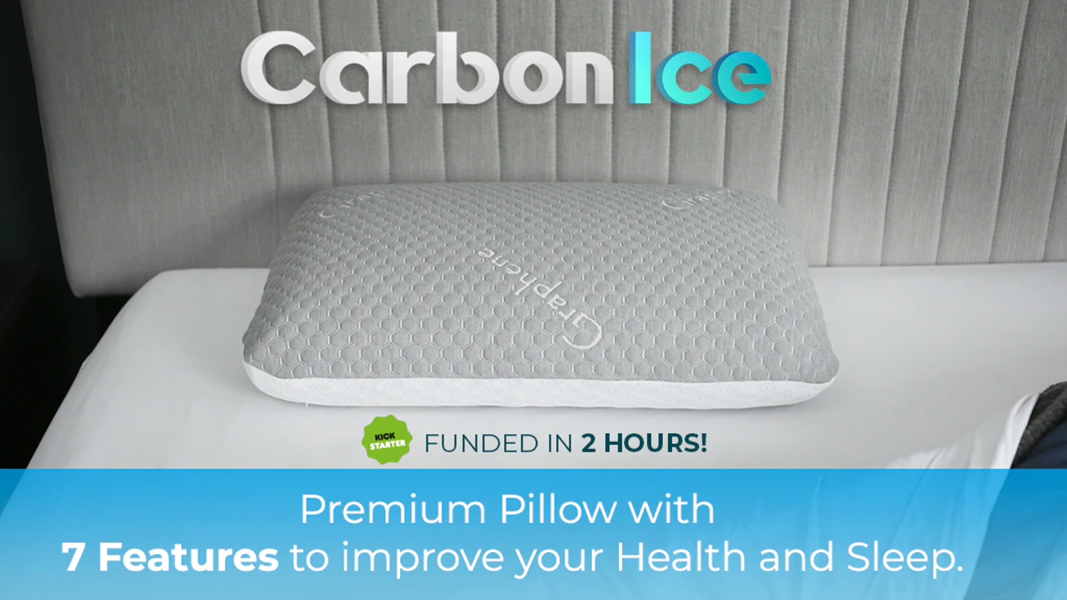 The World's first Revolutionary Pillow with 7 Features-Maximum Bacteria Defense & ActivAir Cooling Technology for incredible comfort.