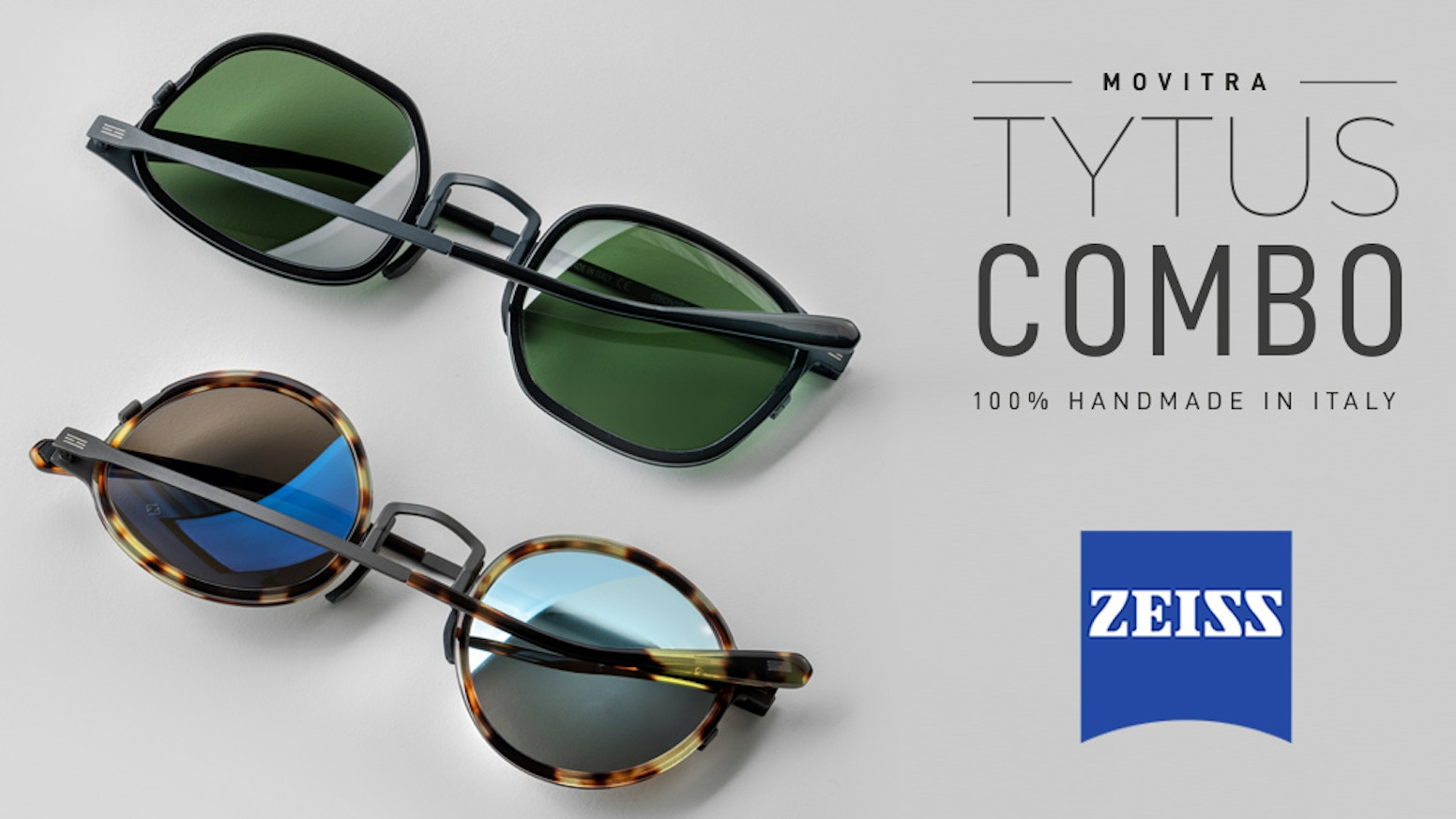 Built-to-last Beta Titanium Glasses with high quality Italian Acetate and Zeiss lenses in only 20 grams!