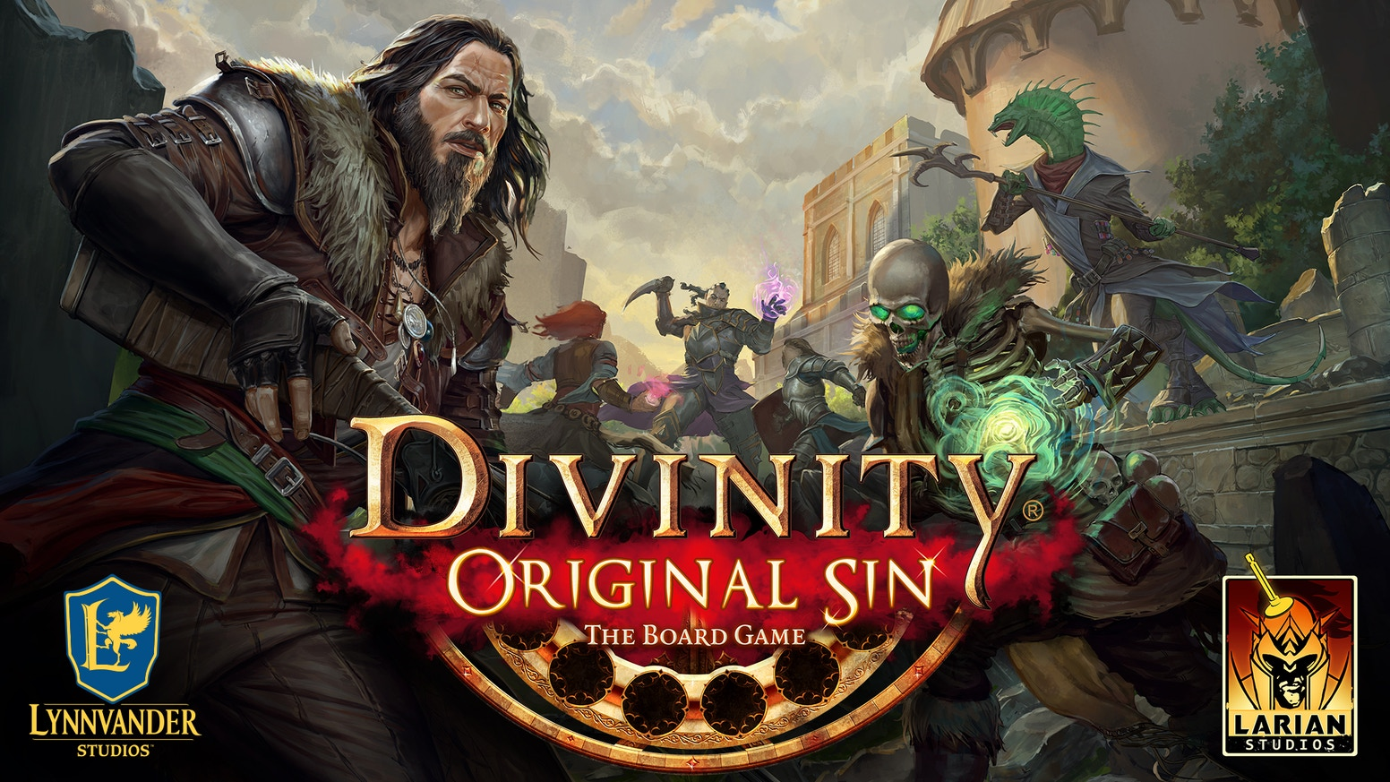 Divinity Original Sin the Board Game is a cooperative, storytelling adventure game set in the Chronicle System.