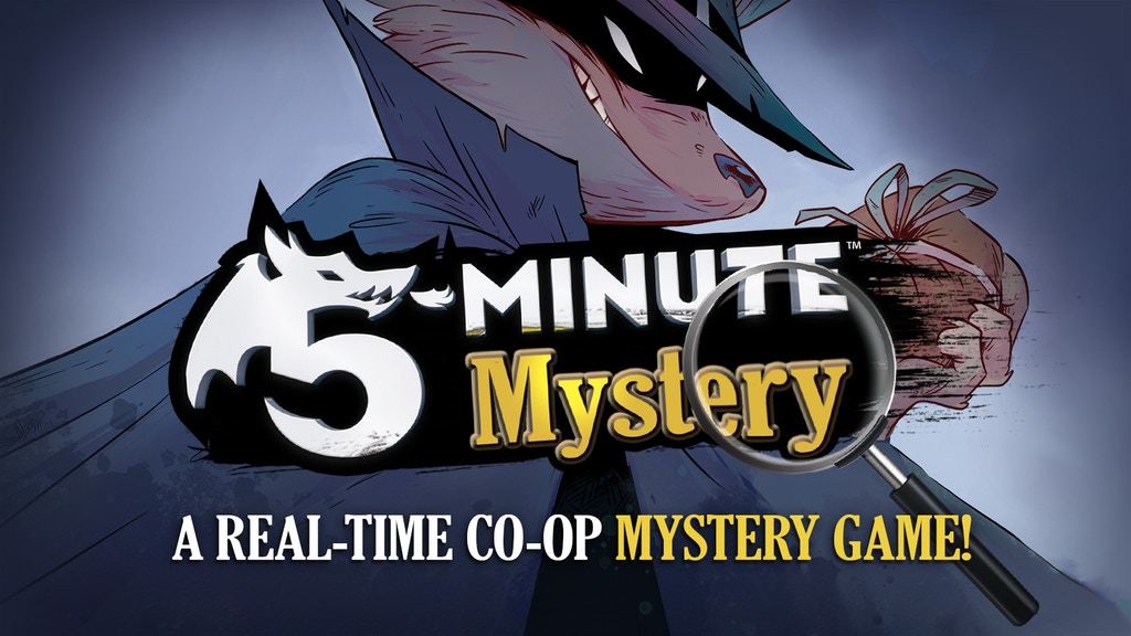 5-Minute Mystery – A Real-Time, Co-op, Mystery Game! project video thumbnail
