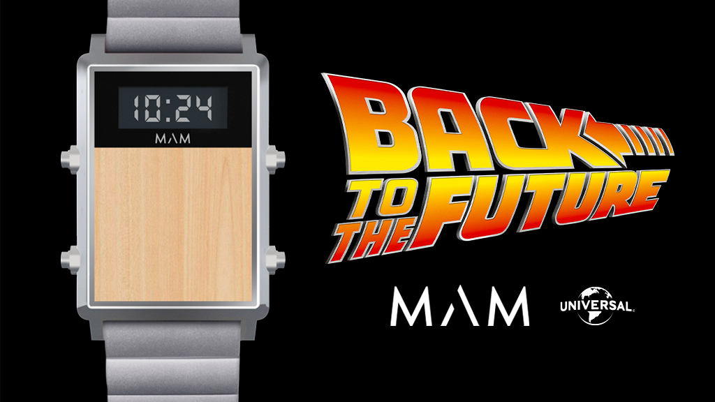 The first official Back To The Future limited edition watch project video thumbnail