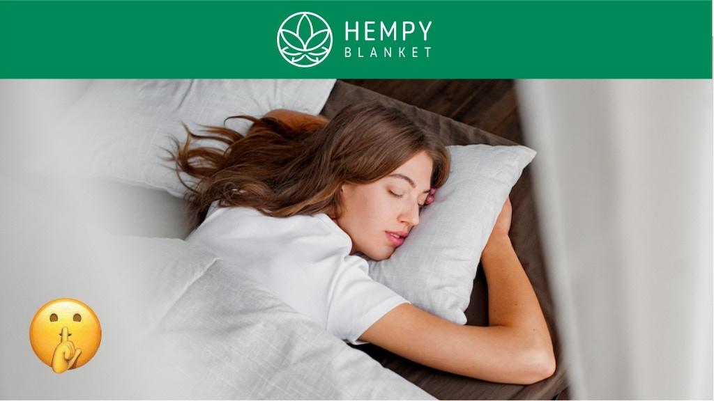 Hempy - 100% organic hemp blanket