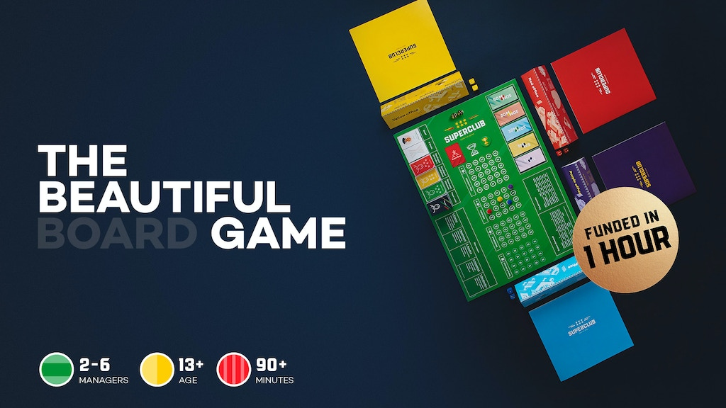 Superclub: The Football Manager Board Game project video thumbnail